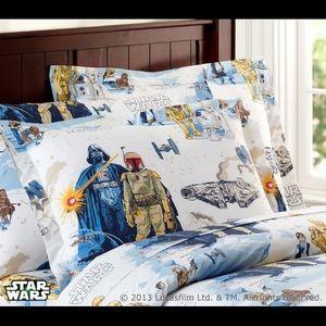 Pottery Barn Kids Star Wars twin sheet set